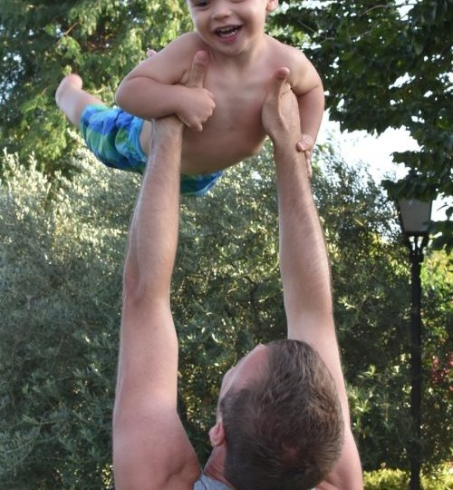 Lifting child